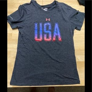 UA USA Graphic Tee